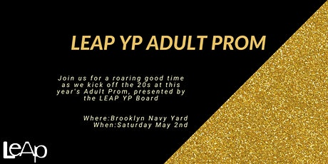LEAP Adult Prom 2020 tickets