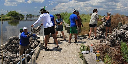 Oyster Shell Bagging Event - Monday, March 16- Camp Hope - Coastal Louisiana Reef Restoration
