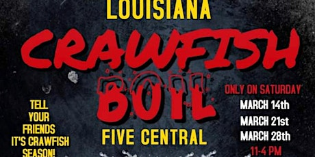 Party on The Patio Crawfish Boil tickets