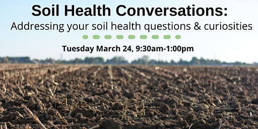 Soil Health Conversations: Addressing your soil health curiosities