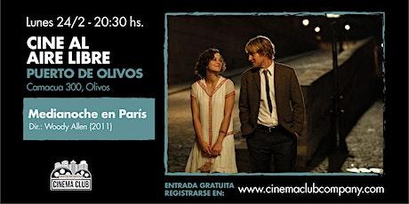 Cine al Aire Libre en Gastronomada - Medianoche en Paris entradas