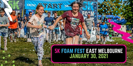 The 5K Foam Fest - East Melbourne 2021 tickets