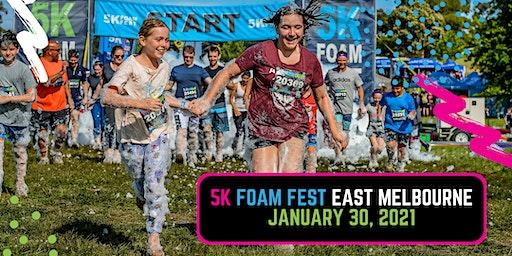 The 5K Foam Fest - East Melbourne 2021