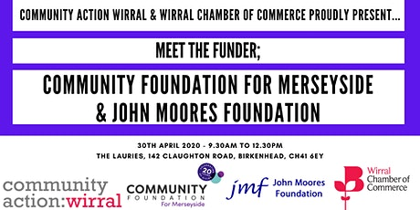 Meet The Funder: Community Foundation for Merseyside/John Moores Foundation tickets