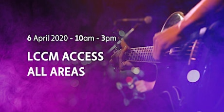 LCCM Access All Areas tickets