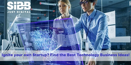 Startup Inspiration! Future Technologies to Ignite Your Business! Tickets