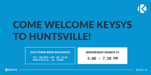Come Welcome KEYSYS To Huntsville!