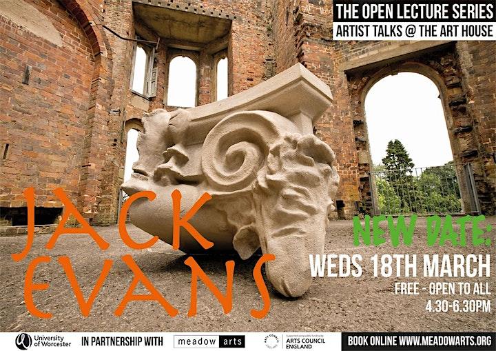 Art House Open Lecture Series - Jack Evans image