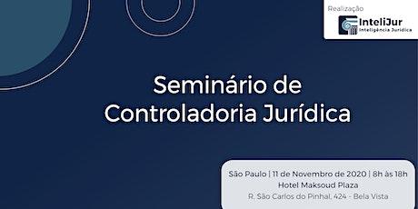 Seminário de Controladoria Jurídica ingressos