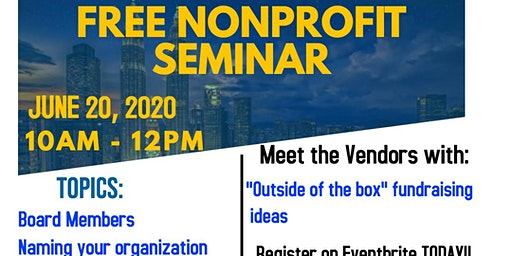 FREE: How to start a Nonprofit Organization