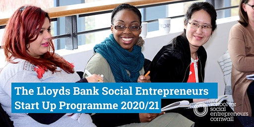Awareness Session: Lloyds Bank Social Entrepreneurs Start Up Programme