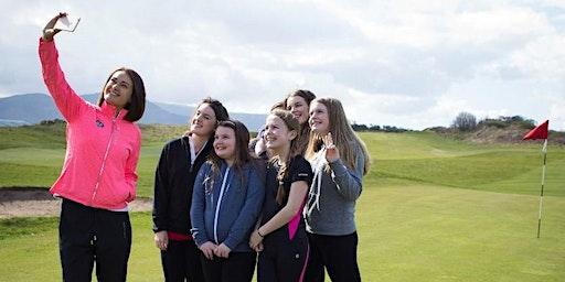 North Wales Girls Golf Cymru Coaching Clinic