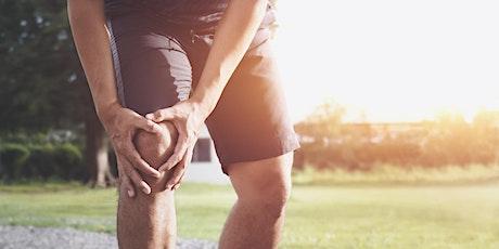 Meet the expert: Hip and knee health talk tickets