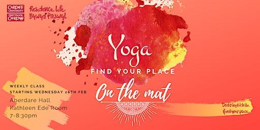 North Campus Beginners Yoga I Dosbarth ioga i ddechreuwyr