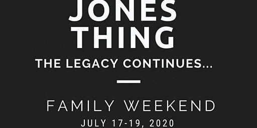 It's a JONES THING: The Legacy Continues
