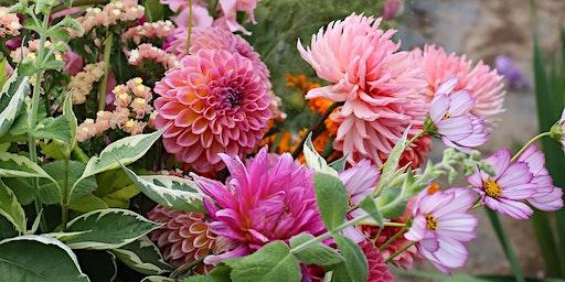 Pick Your Own Flower Posy, September (Cheltenham, Gloucestershire)