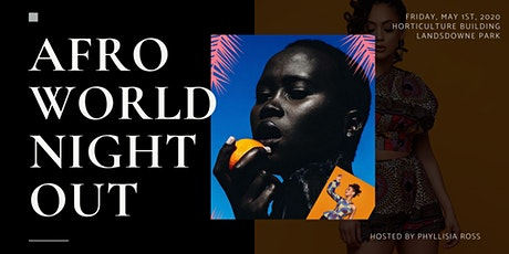AFRO WORLD NIGHT OUT tickets
