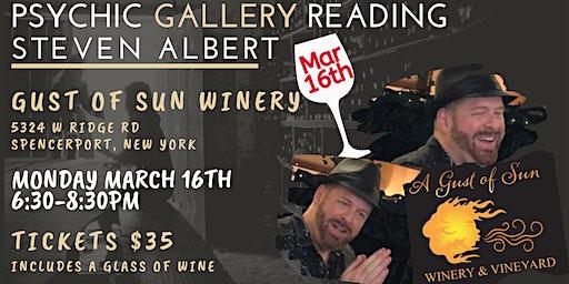 Steven Albert: Psychic Gallery Event - GustsofSun 3/16