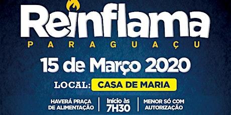 Reinflama Paraguaçu 2020 ingressos