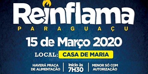 Reinflama Paraguaçu 2020