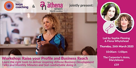 Workshop: Raise your Profile and Business Reach tickets