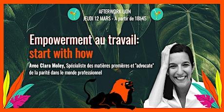 """Empowerment au travail: start with how ! Lancement du livre """"Les Règles du Jeu""""  billets"""