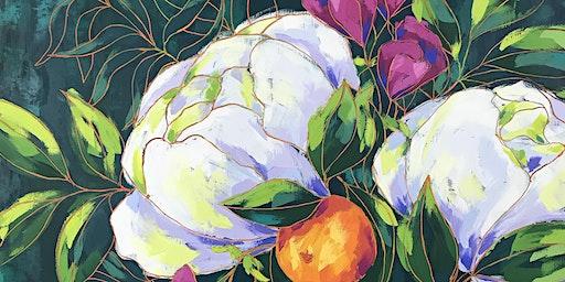 Beautiful Blooms by Jen Stefanek Reception