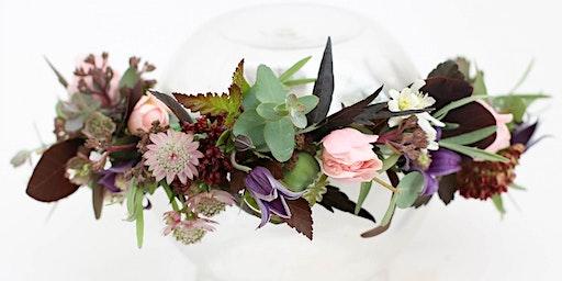 Flower Crown Workshop, May (Cheltenham, Gloucestershire)