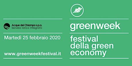 Sviluppo sostenibile e innovazione:  il caso Acque del Chiampo  biglietti