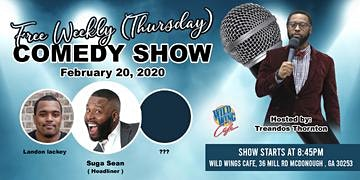 Thursday Comedy show (Wild Wings Cafe)