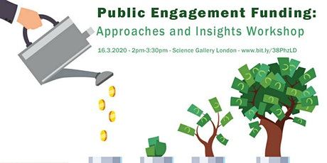 Funding your Public Engagement Activity: Approaches and Insights tickets