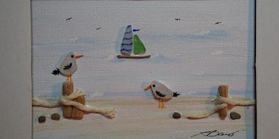 Beach Glass Framed Art Class