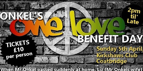 Onkels 'One Love' Benefit Day tickets