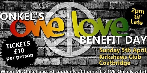 Onkels 'One Love' Benefit Day