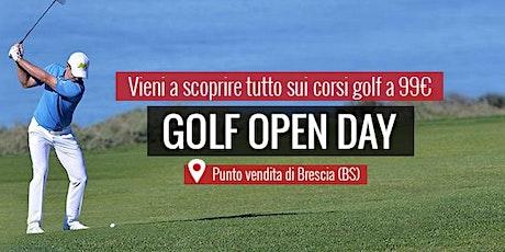 MAXI SPORT | Golf Open Day Brescia 29 agosto 2020 biglietti
