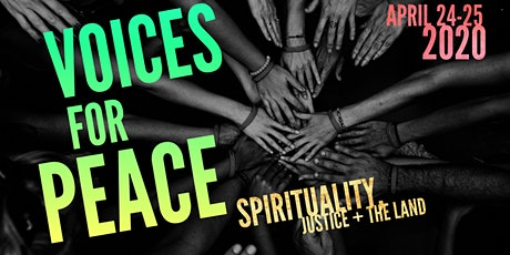 2020 Voices for Peace Conference tickets