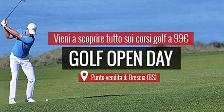 MAXI SPORT | Golf Open Day Brescia 30 agosto 2020 biglietti