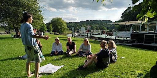 Storytelling on board Thames Venturer