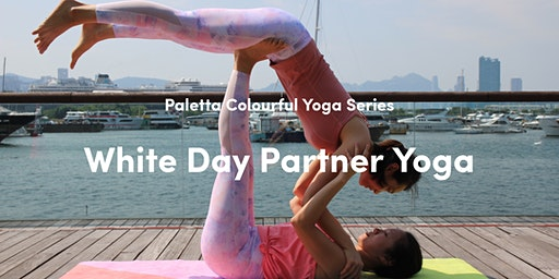Paletta Colourful Yoga Series - White Day Yoga