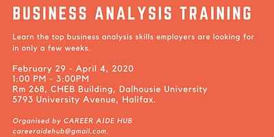 Business Analysis Training (Free)