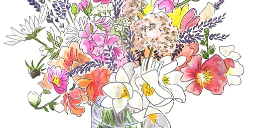 Pick and Paint a Posy, June (Cheltenham, Gloucestershire)