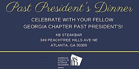 ASID GA Past President's Dinner tickets
