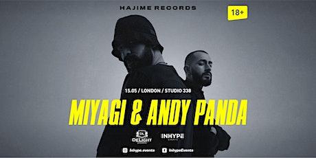 Miyagi & Andy Panda / London/15 May tickets