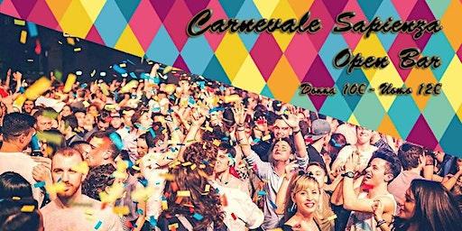 Carnevale Sapienza 2020 - OPEN BAR