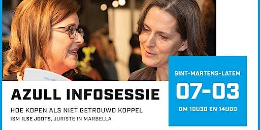 Azull infosessie ism Ilse Jodts, Legal & Taxes op 7 maart om 10.30u en 14u