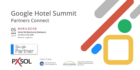 Google Hotel Summit | Partners Connect | Bariloche entradas