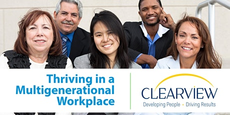 Thriving in a Multi-Generational Workforce tickets