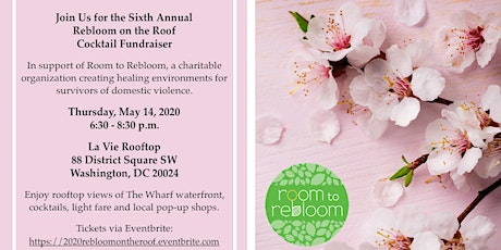 Sixth Annual Rebloom on the Roof Cocktail Fundraiser tickets