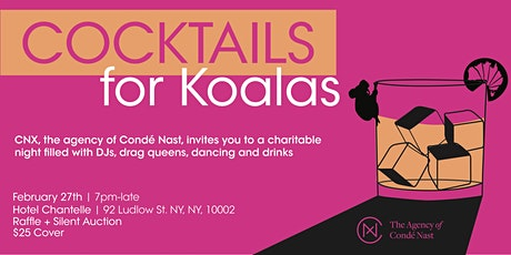 Cocktails for Koalas - A Benefit For Australia tickets