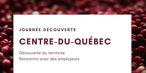COMPLET - Journée découverte - Centre-Du-Québec